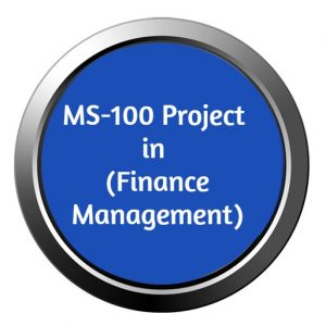 ignou mba project ms-100 for finance management