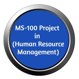 ignou mba project ms-100 in human resource management